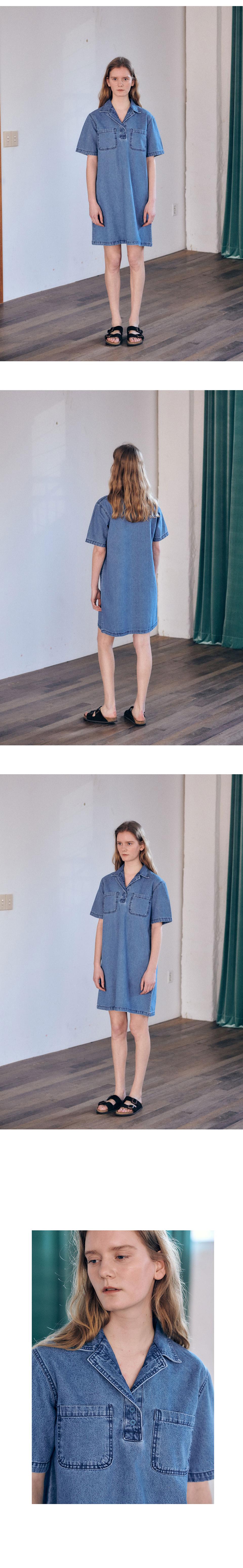 브렌다브렌든 서울(BRENDA BRENDEN SEOUL) Tailored denim one-piece